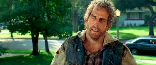 Ben Stiller has looked better than here, scruffy after various attempts to sneak past America's borders.