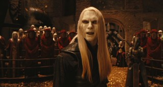Prince Nuada (Luke Goss), feeling that humans are shallow creatures of destruction, tells of his plans to wage war.