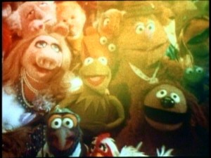"The large group ""Rainbow Connection"" reprise which closes ""The Muppet Movie"" makes for a fitting end here as well."