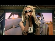 "In her music video ""First"", a skinny and blonde Lindsay Lohan sings about not wanting to be like every other girl in the world."