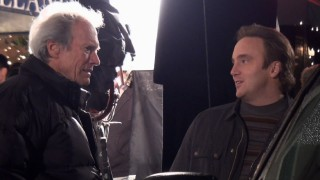 "Director Clint Eastwood isn't sure how he feels about what Jay Mohr is telling him in ""The Eastwood Experience."""