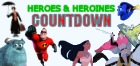 Top 50 Disney Heroes & Heroines Countdown