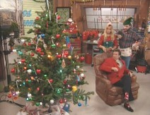 "On ""Tool Time"" revolving Christmas tree spins out of control."