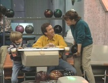 "Tim and Jill get competitive over bowling in ""Up Your Alley."""