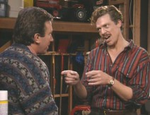 "Shooter McGavin pays Tim a visit in ""For Whom the Belchs Tolls."""