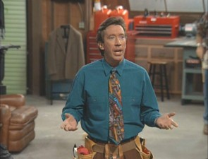 "Tim Allen stars as Tim Taylor, husband, father, and host of cable's ""Tool Time."""