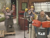 "The boys of K & B Construction get musical in the season finale ""Stereo-typical."""