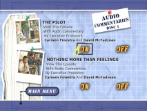 Audio Commentaries menu from Disc 1.
