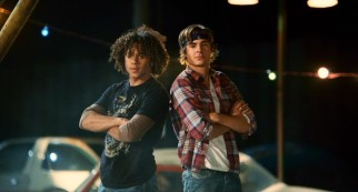 The boys (Corbin Bleu, Zac Efron) are back indeed and tougher than ever with their rolled up sleeves and bandanna.