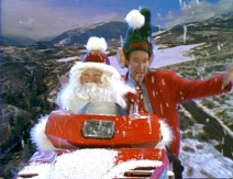 "Santa Borland and Tim ""The Elfman"" Taylor film a holiday promo for ""Tool Time"" in the Christmas episode ""I'm Scheming of a White Christmas."""