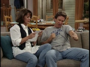 Jill (Patricia Richardson) and Tim Taylor (Tim Allen), the quintessential married couple of '90s television.