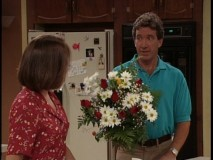 A bouquet of flowers is Tim's idea of an apology in the season premiere.