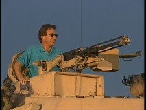 "Tim revels in military machinery in ""Tanks for the Memories."""