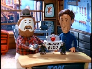 "Tim and Al go claymation in the memorable Thanksgiving episode ""The Wood, The Bad, and The Hungry."""