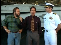"""Tool Time"" is on location aboard an aircraft carrier in season premiere ""At Sea."""