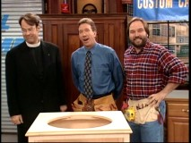 "Dan Aykroyd guest-stars in character as ""Soul Man"" protagonist Mike Weber on ""Home Improvement"" and ""Tool Time."""