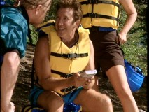 Unexcited by the whitewater rafting trip planned for his birthday, Tim would rather play Game Boy in the season premiere.