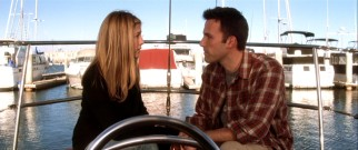 Though they're happy together, Neil (Ben Affleck) doesn't want to marry Beth (Jennifer Aniston), meaning he's just not that into her and therefore banished to this yacht.