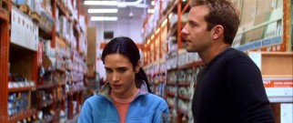 A Home Depot is the site of both a confession and a denial from Ben (Bradley Cooper) to wife Janine (Jennifer Connelly).
