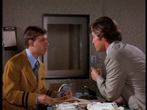 "Hank acts with Kurt Russell in ""The Barefoot Executive"" (1971)."