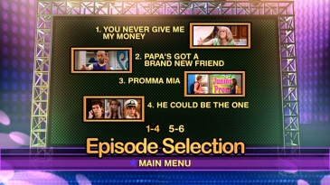 """Miley Says Goodbye?"" breaks with the four-episode standard, meaning the DVD needs two pages to list all these episodes!"