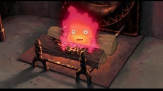 Calcifer, a fire demon whose survival is linked to Howl, is voiced by Billy Crystal in the English language version.