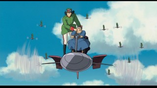 It wouldn't be a Miyazaki movie if the characters didn't take to the air at least once.