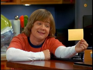Jackson (Jason Earles) fills the frequent role of Disney Channel brothers: hopeful money-maker.