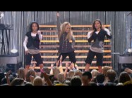 "As Hannah Montana, Miley Cyrus sings and dances to ""Nobody's Perfect"" in the bonus concert performance."