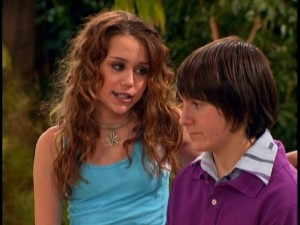 Miley comes clean about being Hannah Montana to Oliver.