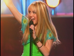 Hannah Montana knows how to live the rock star life.