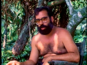 "No shirt, no problem. Francis Ford Coppola is seen diving deep into madness in the excellent documentary ""Hearts of Darkness: A Filmmaker's Apocalypse."""