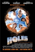 """Holes"" movie poster"
