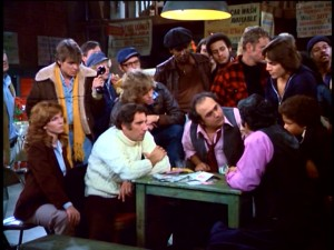 "In what's not your typical Christmas episode, ""Taxi"" centers on a poker game in which Alex (Judd Hirsch) is bankrolled by Louie (Danny DeVito)."