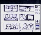 The storyboards feature allows you to view and browse pre-planning sketches for any scene as it arrives.