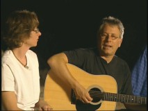Alan Menken plays the guitar and sings for the crew in the making-of featurette.