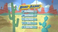 Home on the Range: DVD Main Menu.