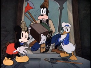 "A large chunk of the program is made up of old school cartoons like Mickey, Goofy, Donald: The Original Ghostbusters (or ""Lonesome Ghosts"", as it's more widely known)."
