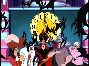 "The rest is made up of ""House of Mouse"" style antics with the most famous villains of Disney's animated films."