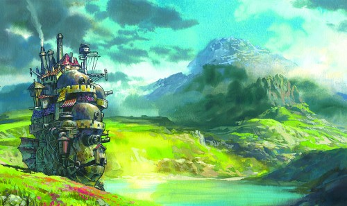 The title domain: Howl's Moving Castle.