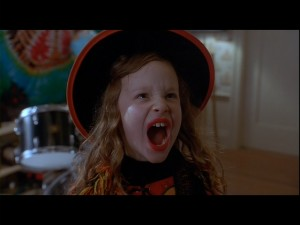 Thora Birch delivers one of the movie's most memorable moments.