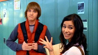 Is it possible to be float committee partners of opposite sexes and not be each other's love interest? Maybe, but that's not the case for Pete (Jason Dolley) and Angela (Josie Loren).