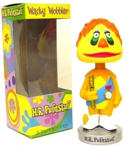 Funko presents H.R. Pufnstuf, the Wacky Wobbler bobblehead, included in the Collector's Edition of this DVD release.