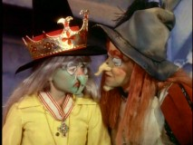 Jimmy's Boss Witch disguise starts to come undone during his inspection of Witchiepoo.