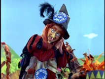 With a bit of magic, aspiring mayor Witchiepoo rallies the support of Living Island's assorted residents.