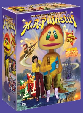 H.R. Pufnstuf: The Complete Series (Collector's Edition with Bobblehead) box art - click to buy from Amazon.com