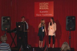 "Big kids try their hand at ""High School Musical"" karaoke show auditions."
