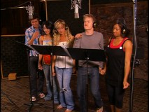"The music video for ""All for One"" relegates Corbin Bleu to his own recording studio while everyone else gets together here. I guess it's more like ""All but One""..."