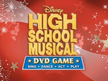 "High School Musical DVD Game is subtitled ""Sing • Dance • Act • Play"". If you make it through the disc, you'll do all of those things, which apparently make for a more marketable slogan than ""Draw • Clap • Guess • Receive Misguided Career Advice"" (you'll do all of those things too)."