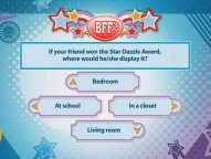 "The ""BFF"" game will let you know if you and your co-player are really best friends forever or just kind of friends for now."